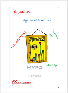 Assessment Linear  Equations (MYP2 //15-16)